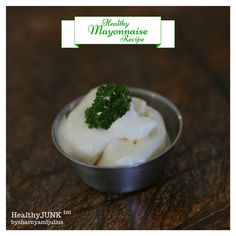Healthy Mayonnaise Recipe | Sharny and Julius