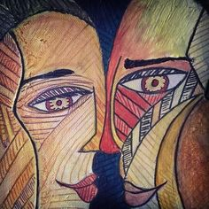 nose to nose #art #love #couple #romance #lines