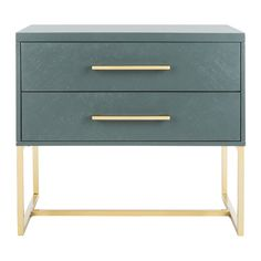 Ally 2 Drawer Nightstand & Reviews | Joss & Main