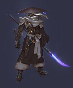 ArtStation - Monk soldier mark-II (そうへい MK2), Hui Zou