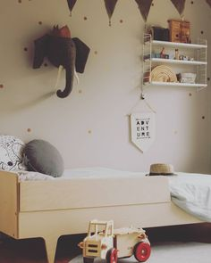 "4 Likes, 1 Comments - Twigged Design (@twiggeddesign) on Instagram: ""Twigged bed with removable toddler rail. Looking super cute in this little boys room 😍. Photo cred…"""