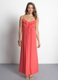 Dreamy ethereal frills take this gorgeous summer maxi dress to new heights of romance. Double the oomph when it is made of the softest cotton!    Constructed with neckline nursing access, and featuring a concealed button down placket for discreet breastfeeding.