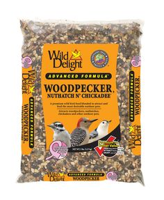 A premium wild bird food blended to attract and feed the most desirable outdoor pets.