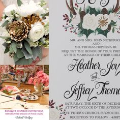 Behold Designz will customize any design to your wedding colors. Ask us how!
