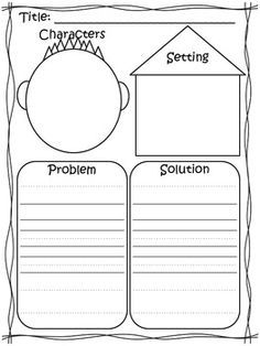 Printables Character And Setting Worksheets story elements worksheets and free stories on pinterest response to literature characters setting plot