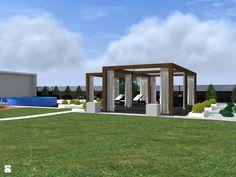 nowoczesny ogród w Łodzi - zdjęcie od ap. studio architektoniczne Aurelia Palczewska-Dreszler - Ogród - Styl Nowoczesny - ap. studio architektoniczne Aurelia Palczewska-Dreszler