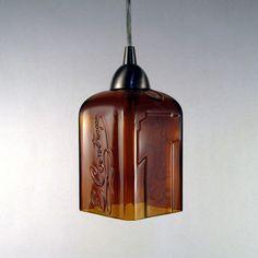*.*.* Mônica Alencar *.*.*: Reciclagem - faça um lustre pendente de garrafa de Contreau