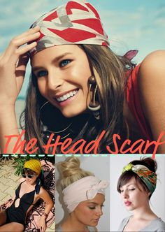Cool head scarves