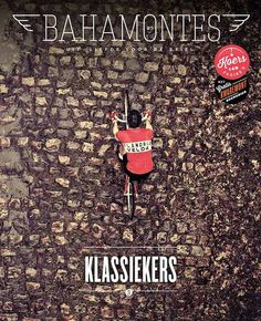 cadenced:  Cover of the latest issue of Bahamontes. Thanks to Gravillon for the heads up.