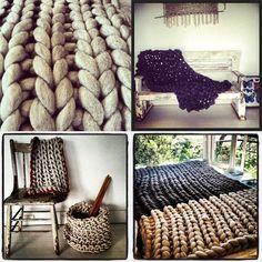 Chunky knits: