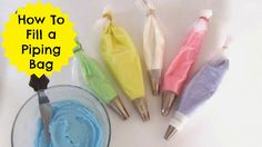 Lindsay Ann Bakes: {VIDEO} Saran Wrap Trick- Filling A Piping Bag With Frosting | Cupcakes 101: Quick, Easy Tips & Tricks
