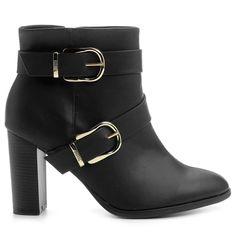 Compre Bota Vizzano Salto Grosso Fivelas Preto na Zattini a nova loja de moda online da Netshoes. Encontre Sapatos, Sandálias, Bolsas e Acessórios. Clique e Confira!