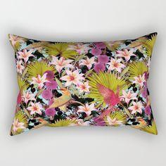 tropical lilly Rectangular Pillow
