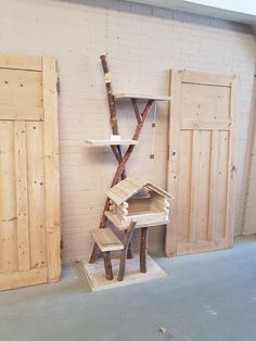 Kitty House, Cat Cages, Cat Condo, Pet Furniture, Catio, Cat Lovers, House Ideas, Tower, Puppies