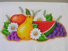 Frutas, pintura