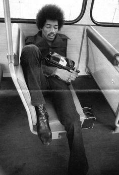 Jimi Hendrix That lefty shoulda stuck around to teach me guitar!!! #hendrix