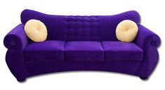 EON Sleeper Sofa queen size in purple microsuede $1,299 plus tax and delivery