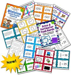All of Laura Candler's task card sets and activities with task cards together in one place! Includes both free and paid items.