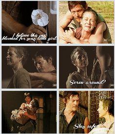 Daryl & Carol, The Walking Dead http://pinterest.com/yankeelisa/the-walking-dead/