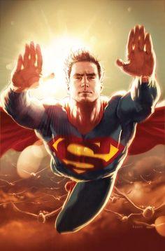 #ACTIONCOMICS #999 variant by Kaare Andrews. #Superman
