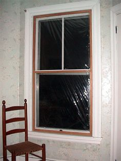 Window restoration how to re rope sash cord old town - Interior storm windows for old houses ...