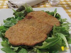Come preparare le fettine impanate al forno, croccanti e gustose fettine di carne panata senza uova, ideale per maiale, vitello o petto di pollo