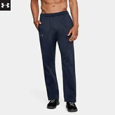 Midnight Navy Under Armour Adult NCAA Mens Armourfleece Pant Small