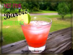 Hot Pink Barbie {{Mixed Drink}} - Simply Southern Couponers