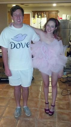 Soap & Loofah #Halloween costume. #DIY