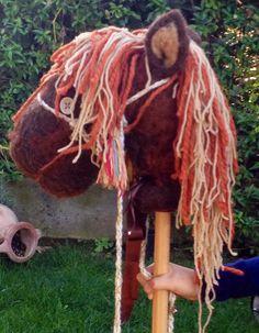 Cavallo  in lana cardata di CreazioniMonica su Etsy