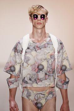 ANDY WOLF x JULIAN ZIGERLI / LIFE IS ONE OF THE HARDEST / SPRING/SUMMER 2015 / MENSWEAR / EYEWEAR / SUNGLASSES / COOPERATION / EYEWEAR / BERLIN / FASHION WEEK Andy Wolf, Mercedes Benz, Berlin Fashion, Spring Summer 2015, Catwalk, Eyewear, Ruffle Blouse, Sunglasses, Life