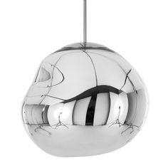 Lámpara colgante TOM DIXON Melt Mini cromo EU #iluminacion #diseño #interiorismo