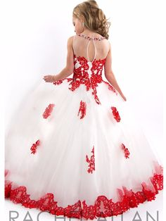 Pagent Dresses For Kids, White Pageant Dresses, Beauty Pageant Dresses, Little Girl Pageant Dresses, Girls Formal Dresses, Gowns For Girls, Girls Party Dress, Little Girl Dresses, Glitz Pageant