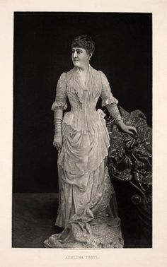 Adelina Patti c.1886