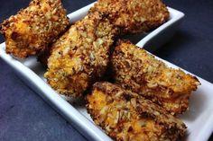 So einfach werden Paleo Kroketten selbstgemacht: Glutenfrei, Laktosefrei - frei von schlechten Fetten. Süßkartoffeln und Blumenkohl bilden die Grundlage.