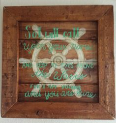 hand painted repurposed wood sign hillsong by p31wifedesigns, $50.00