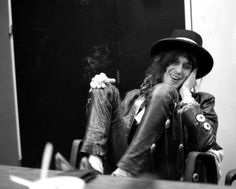 Andy McCoy - Hanoi Rocks / Smoking