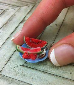 1:12 scale watermelon