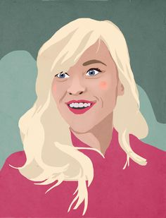 Portrait of Reese Witherspoon - Illustration #reesewhitherspoon