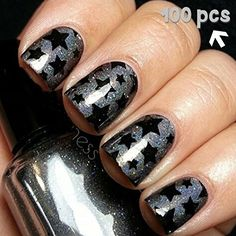 Star Shape Fingernail Art Decal Sticker Nail Vinyls 100 pk *** Click image for more details. Note:It is Affiliate Link to Amazon.