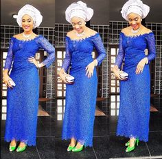 nigerian blouse and wrapper styles - Google Search