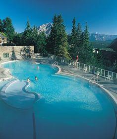 Banff Upper Hot Springs, Alberta, Canada - World's Coolest Hot Springs | Travel + Leisure