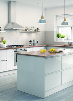 British made and hand built kitchens from kit+kaboodle MADE FOR YOU at Homebase. Book your appointment today!
