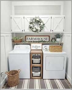 ☛☀ Functional And Stylish Laundry Room Design Ideas To Inspire (Make You. ☛☀ Functional And Stylish Laundry Room Design Ideas To Inspire (Make You Love it 39 Laundry Room Wall Decor, Tiny Laundry Rooms, Laundry Room Remodel, Laundry Room Organization, Laundry Room Design, Laundry Organizer, Laundry Room Shelving, Laundry Room Colors, Decorate Laundry Rooms