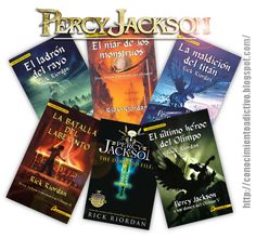 Devonshy: Saga Percy Jackson de Rick Riordan