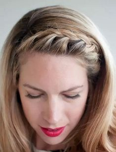 easy everyday hairstyles 1 The post Top 17 Casual Hairstyles for Everyday appeared first on Suggestions. Easy Everyday Hairstyles, Daily Hairstyles, Easy Hairstyles For Long Hair, Braids For Long Hair, Headband Hairstyles, Trendy Hairstyles, Straight Hairstyles, Braided Hairstyles, Headband Braids