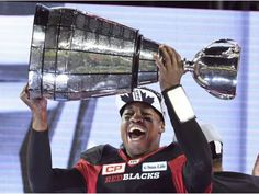 Inside the CFL: Henry Burris takes his 1000-watt smile to TV