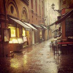 Pioggia a Bologna
