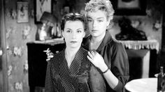 """Vera Clouzot and Simone Signoret in Les Diaboliques / Diabolique (Henri-Georges Clouzot, 1955) """"There is only one possible end. We are monsters."""""""