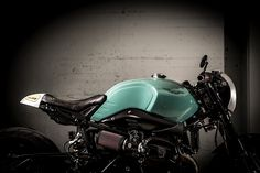 Green Scot - VTR Customs DBR9T ~ Return of the Cafe Racers